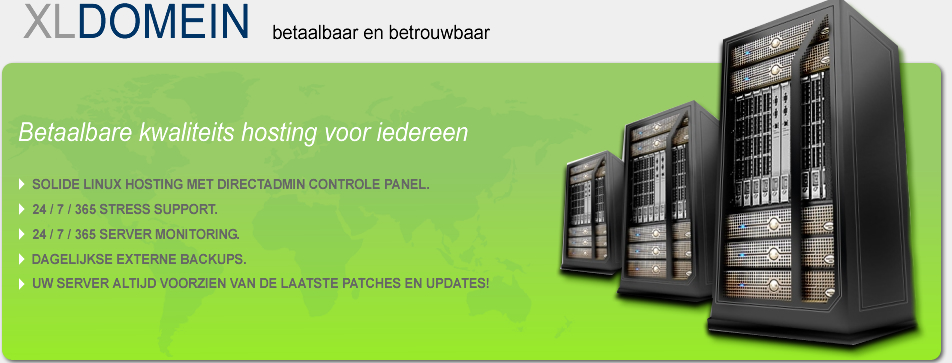 Xldomein - De specialist in dedicated en virtuele hosting. Betrouwbaar en betaalbaar. VPS, adult host, adult hosting, tube en game hosting.